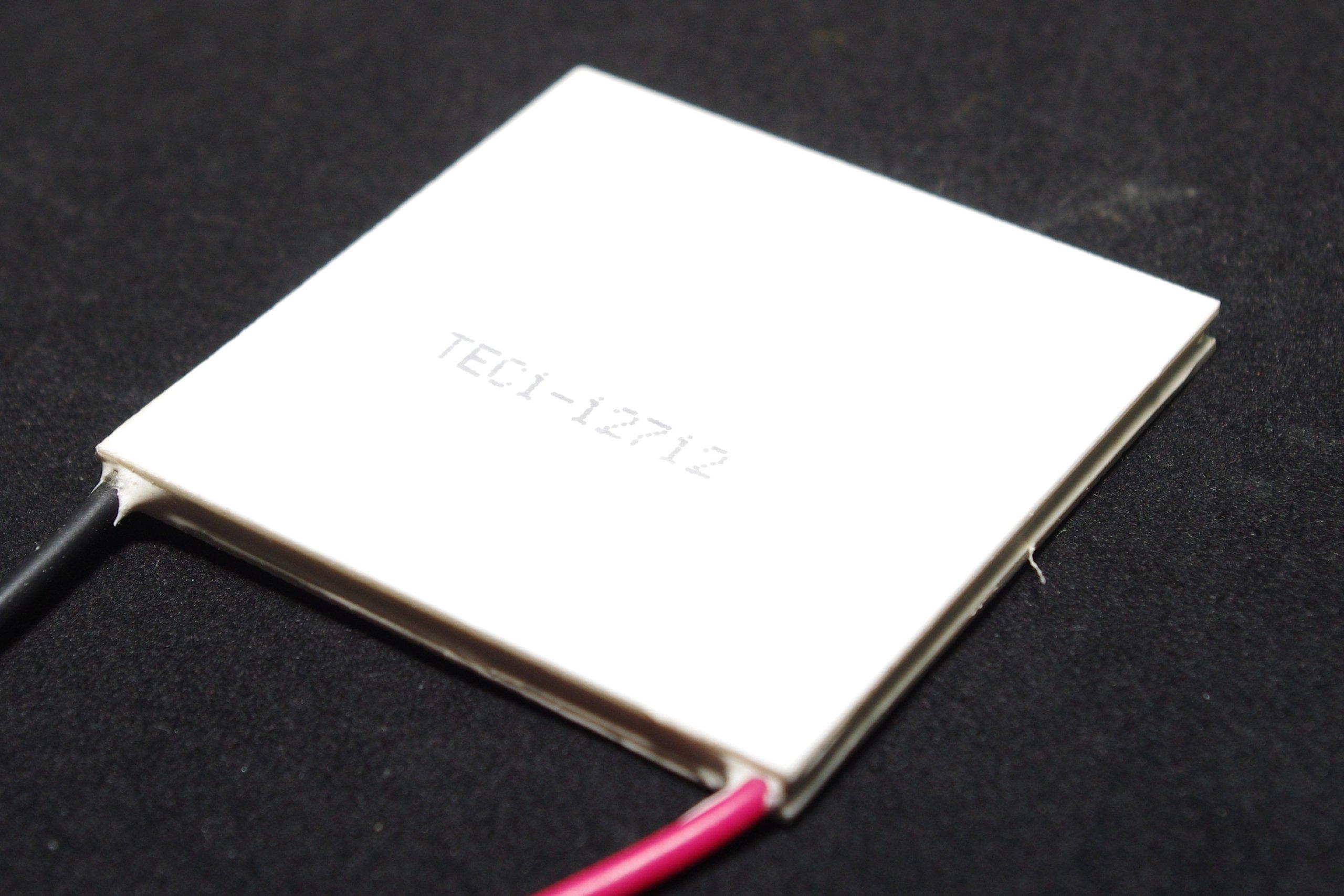 SMAKN 50*50mm TEC1-12715 Thermoelectric Cooler Peltier Heatsink Module 12V 15A