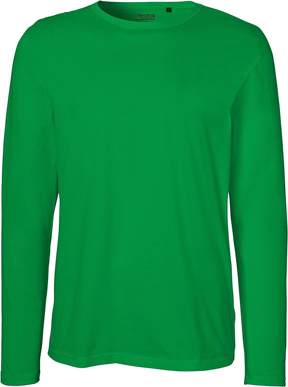 Green Cat Maglia a maniche lunghe da uomo Oeko-Tex e Ecolabel in 100/% cotone biologico certificata Fairtrade