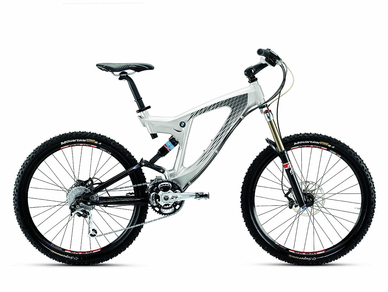 BMW Herren Mountain Bike Enduro, Metallic weiß, M: Amazon.de: Sport ...