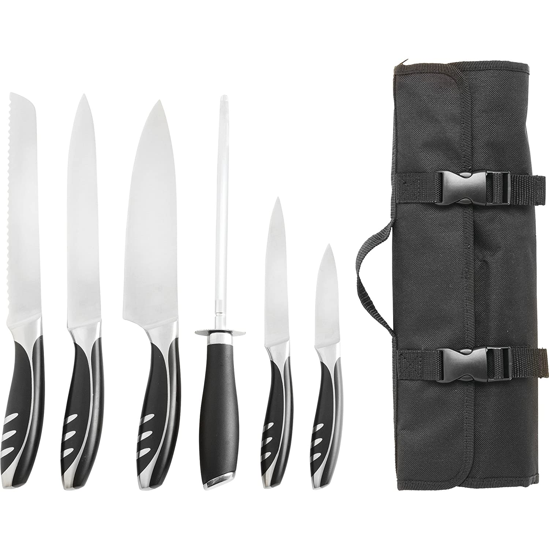 Slitzer Germany 7pc Chef's Cutlery Set by Maxam SYNCHKG091278