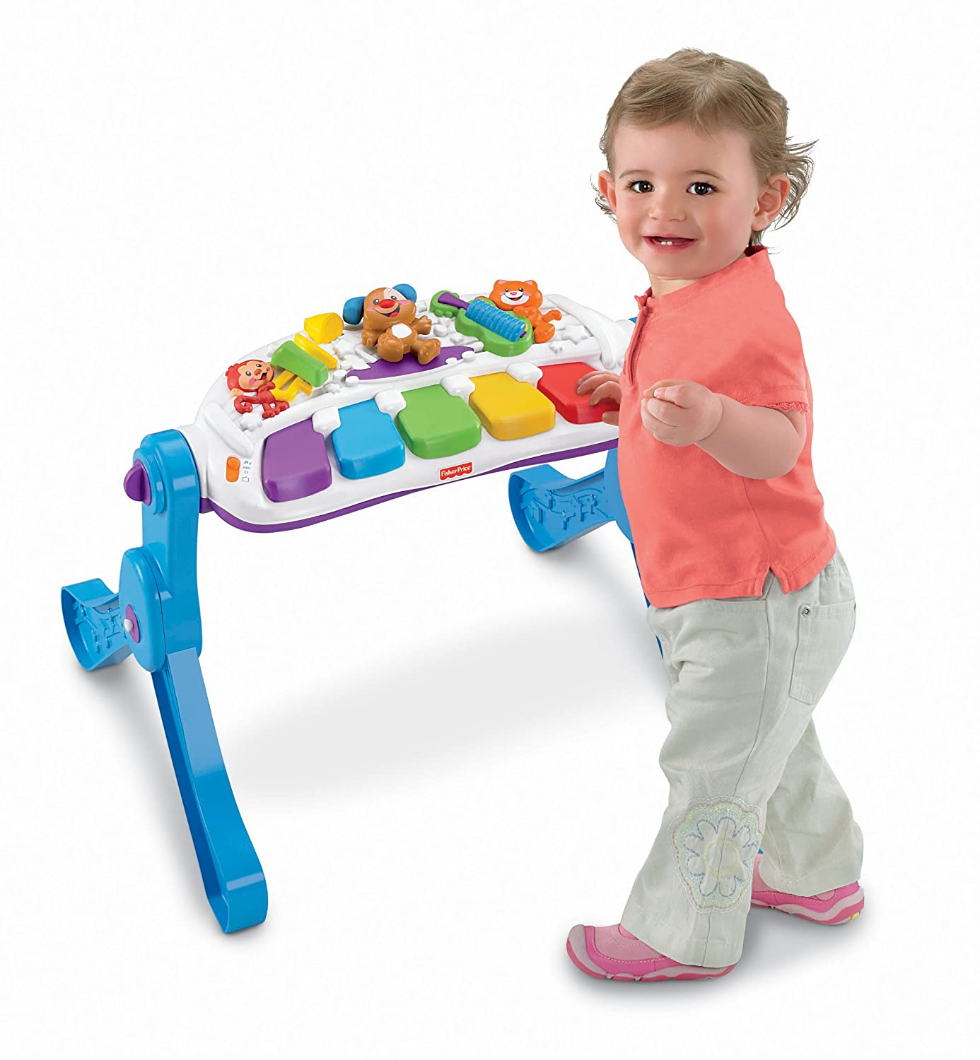 Amazon Fisher Price Laugh & Learn Learn & Move Music Station