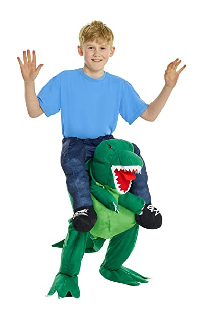 Morphsuits T-Rex Piggyback Kids Costume One Size  sc 1 st  Amazon.com & Amazon.com: Morphsuits T-Rex Piggyback Kids Costume One Size: Toys ...