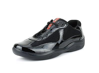 4da7463dabd Prada Women s America s Cup Patent Leather Trainer Sneaker