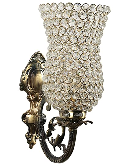 Gojeeva Antique Design and Royal Look Sconce Wall Lamp with Mosaic Work  For ColorFull Light  Fixtures