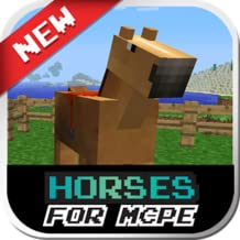 Mods for MCPE: Horses Mod - New