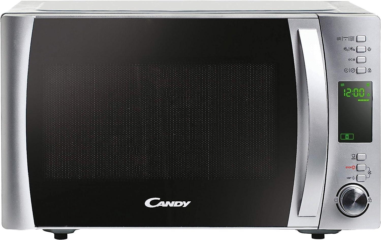 Candy X-Range CMXG22DS/ST Microondas con grill, Capacidad 22l, Accesorio para vapor, 40 programas, 5 Niveles de funcionamiento, Potencia 1250W, Inox
