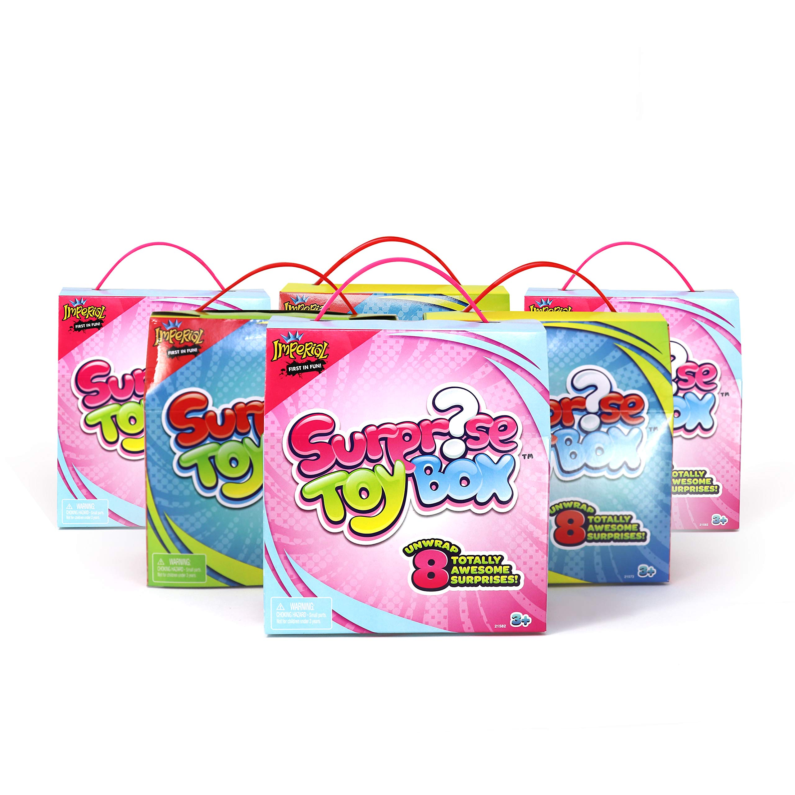Surprise Toy Boxes - Party Pack of 6 Boxes