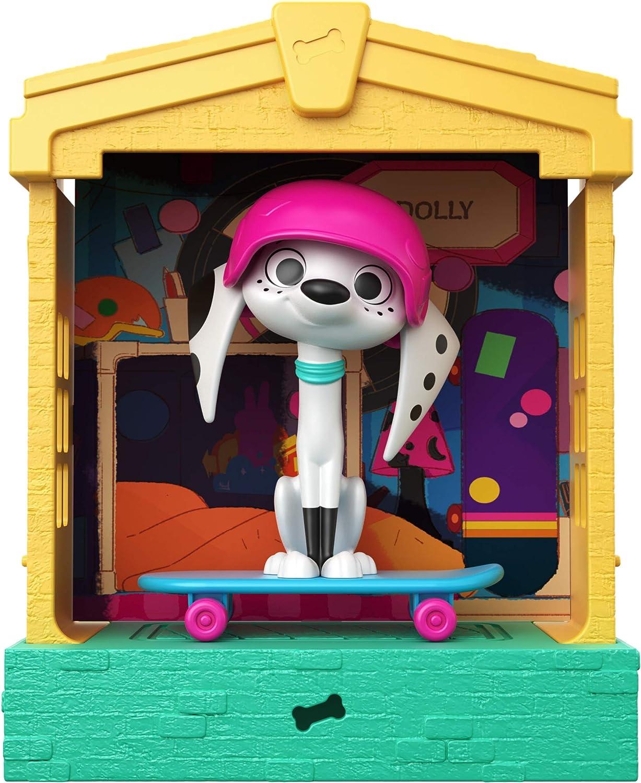 5-in Stackable Dog House with Deja-Vu Ch... 101 Dalmatian Street GBM33 Disney