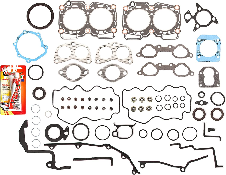 innova3.com Intake Manifold Gasket Set Fits 90-98 Subaru Impreza ...
