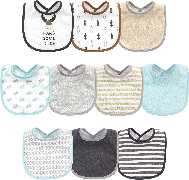 Cotton Flannel Unicon Baby Bib