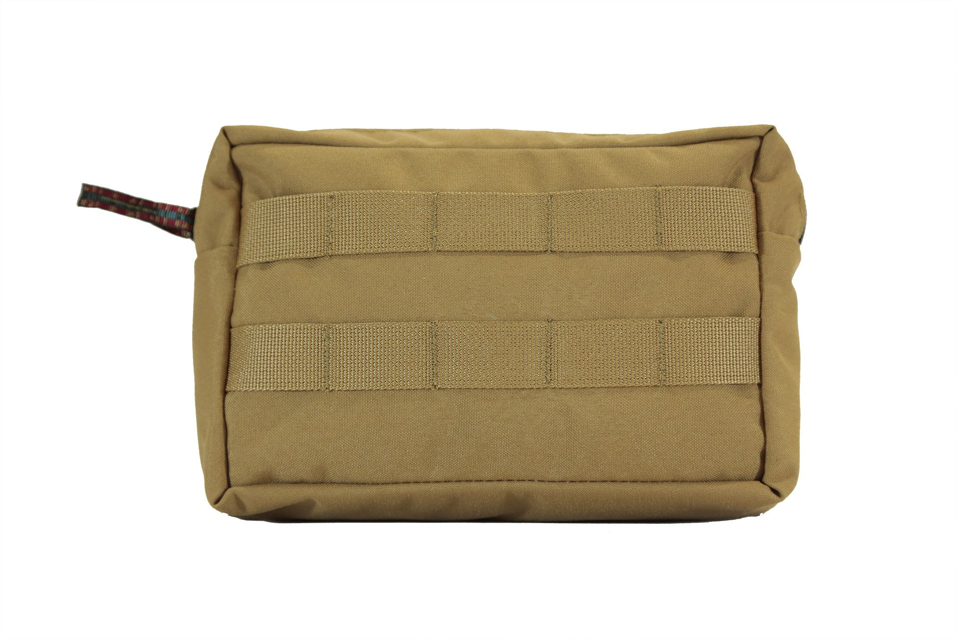 Medium General Purpose GP MOLLE Pouch 5X8X3 (Coyote)   Made In USA, Overland Off-Road Car Camping Gear