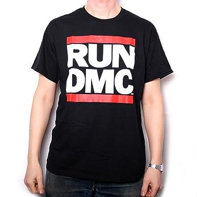 baf63c62 Amazon.com: Run DMC T Shirt - Classic Logo 100% Official: Clothing