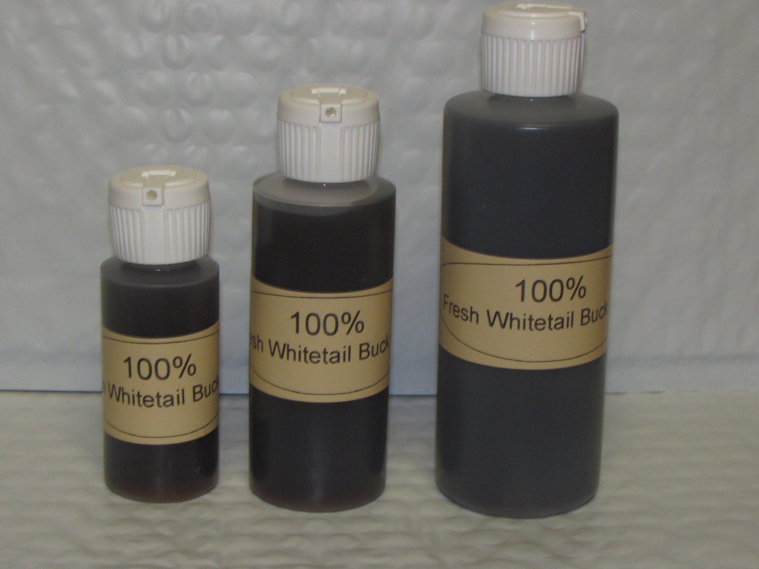 100 % FRESH WHITETAIL BUCK URINE 4 oz. Hunting
