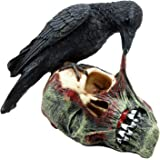 "Ebros T Virus Infected Raven Crow Feeding on Zombie Flesh Decorative Figurine 4.25""H As Doomsday Apocalypse Dead Walking…"