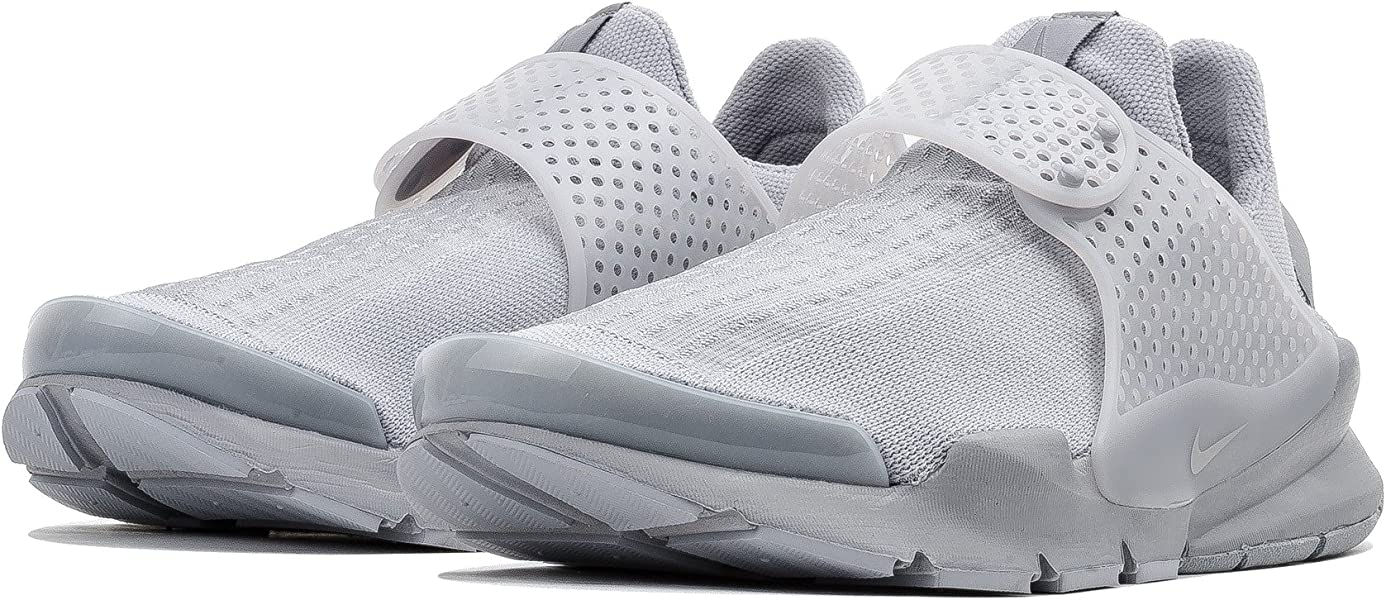 hot sale online 02fa5 b470e NIKE Mens Sock Dart KJCRD Low Top Running Sneaker (7, Wolf Grey Wolf