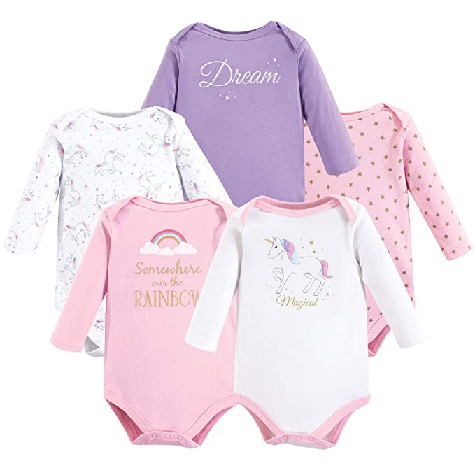 The Cheapest Price Baby Girls Unicorn Baby Grows 3-6 Months Selected Material One-pieces Clothing, Shoes & Accessories
