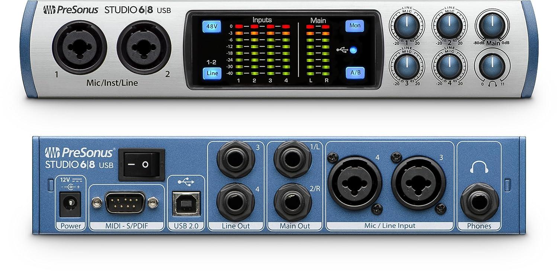 Studio 1824-8 Mic Pres PreSonus Audio Interface