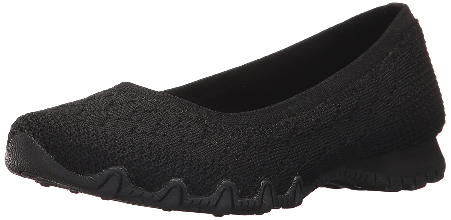 Skechers Women's Bikers Witty Knit Ballet Flat