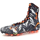 Under Armour Highlight MC Lacrosse Football Cleats Shoes Mens Black Silver Orange