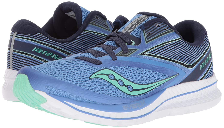 Saucony Women's Kinvara 9 Running Shoe B072JTVMPS 10.5 B(M) US|Blue/Teal