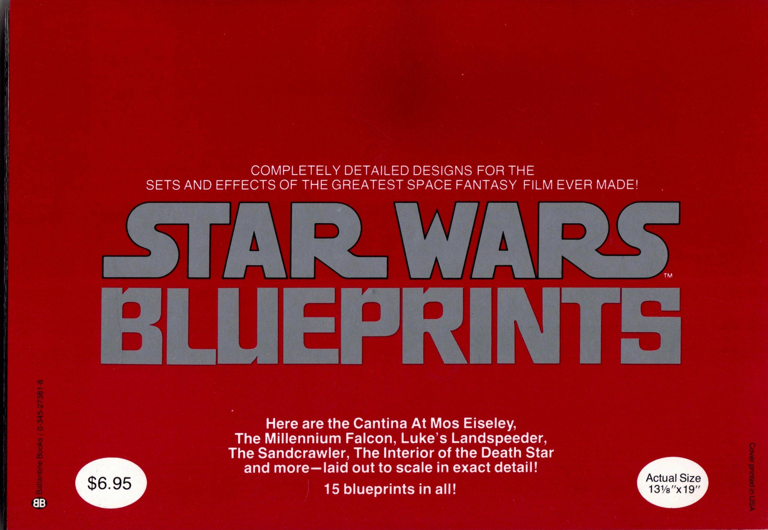Star wars blueprints lucas film editors 9780345273819 amazon star wars blueprints lucas film editors 9780345273819 amazon books malvernweather Image collections