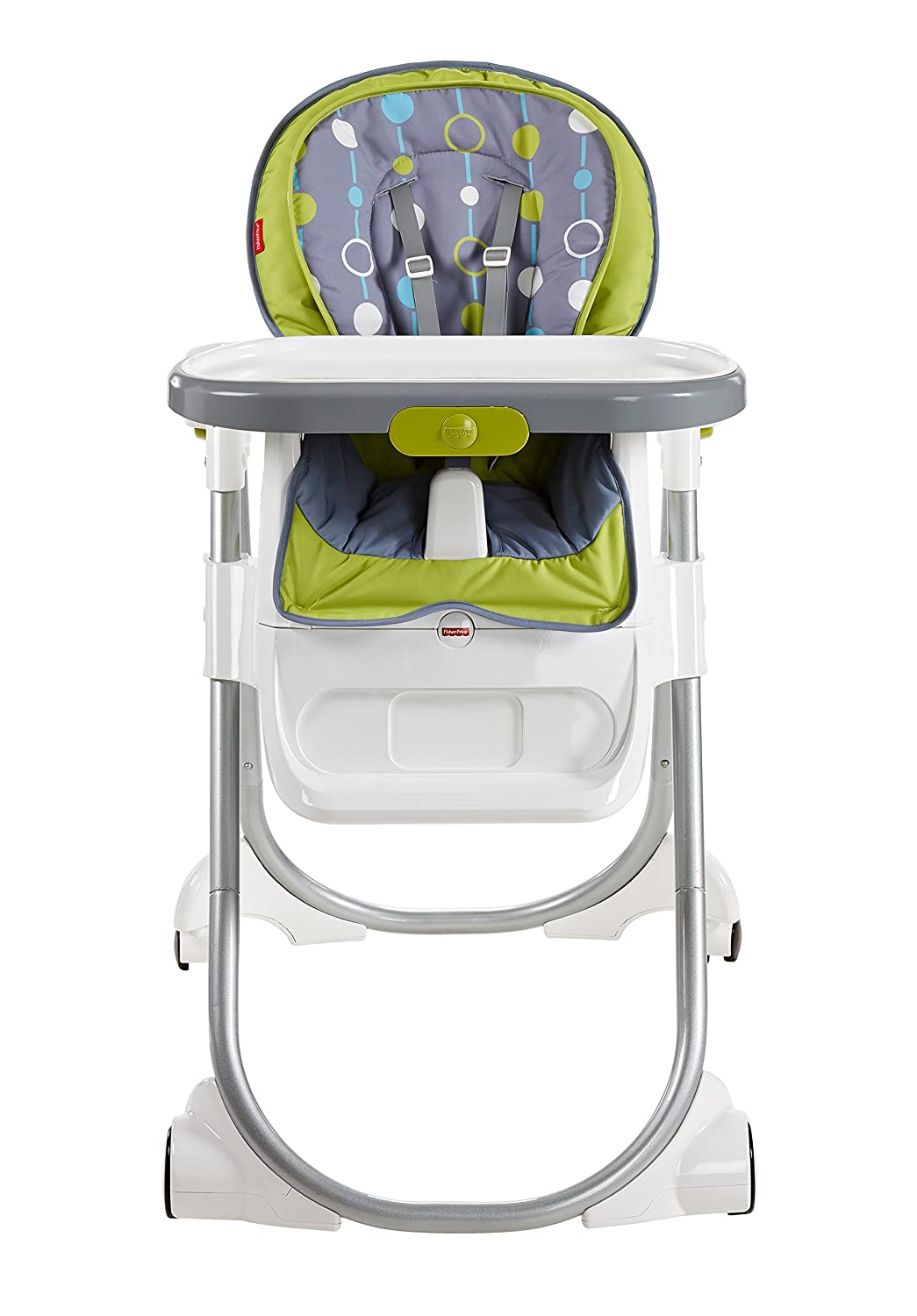 Chair fisher price high chair ez clean - Amazon Com Fisher Price 4 In 1 Total Clean High Chair Green Gray Baby