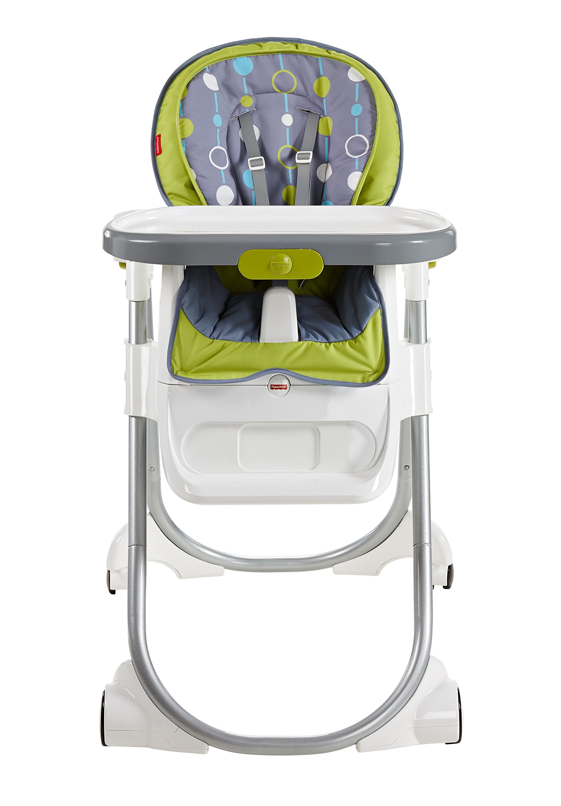 Fisher-Price 4-in-1 Total Clean High Chair, Green/Gray by Fisher-Price (Image #6)