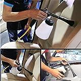 Car Washing Cleaning Gun Air Pulse Foamaster Nozzle Sprayer Gun With Bottle