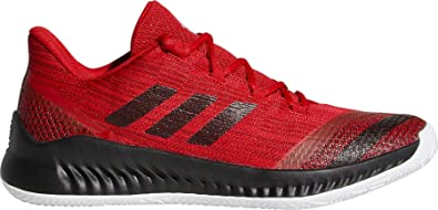 premium selection 30ee9 bbf57 adidas Men s Harden B E 2 Basketball Shoes (18, Red Black)