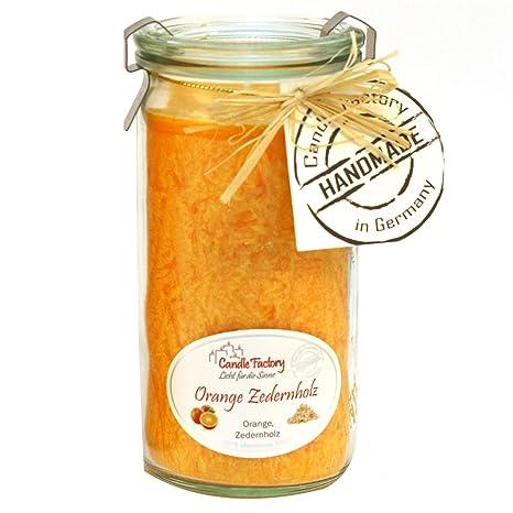 Candle Factory Vela Mini Jumbo Aroma Naranja Cedro 307 - 081 ...