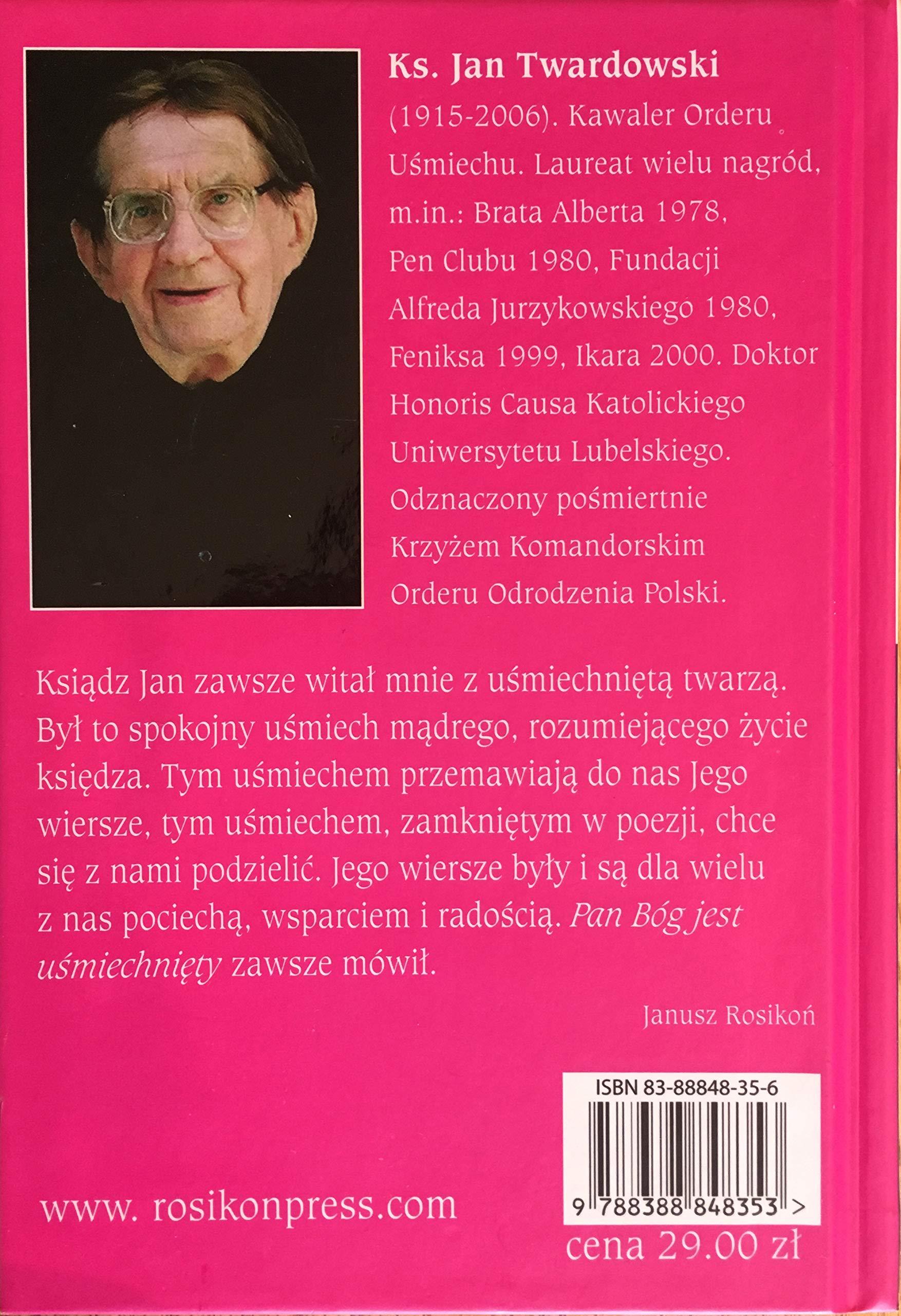Usmiech Milosci Amazones Jan Twardowski Libros En