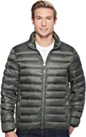 Tumi Mens Patrol Packable Travel Puffer Jacket