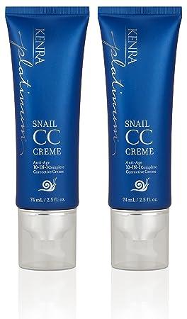 Kenra Platinum Snail CC Creme, 2.5-Ounce 2-Pack