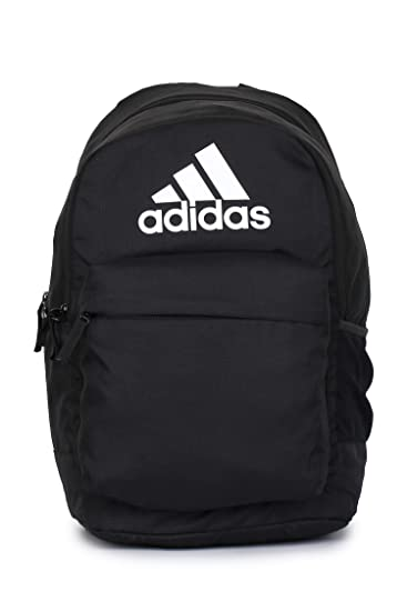 Adidas Unisex Black Classic Pocketl Backpack