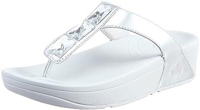 072cb129d59eba Fitflop Pietra Silver (7UK 41EU)  Amazon.co.uk  Shoes   Bags