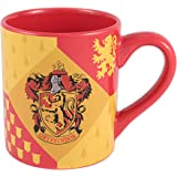 Silver Buffalo HP7332 Harry Potter Gryffindor House Crest Ceramic Mug, 14-Ounces