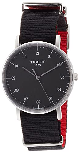 Tissot Reloj Analógico para Unisex Adultos de Cuarzo con Correa en Tela T1094101707700: Amazon.es: Relojes