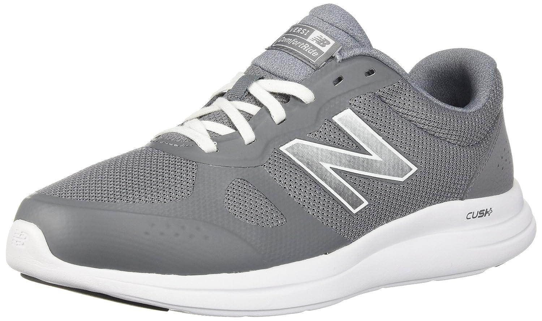 8d9b99800b7 New Balance Men's Versi v1 Cushioning Running Shoe, Gunmetal, 7 4E US