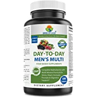 Brieofood BRIOFOOD Day-to-Day Men's Multi 180 Tablets - Food Based Supplement With Vegetable Source Omegas
