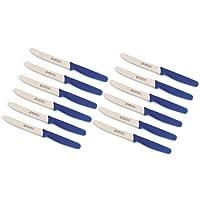 12 Stück Tischmesser PP blau Marsvogel Solingen # 13 05 03 Menümesser Tafelmesser