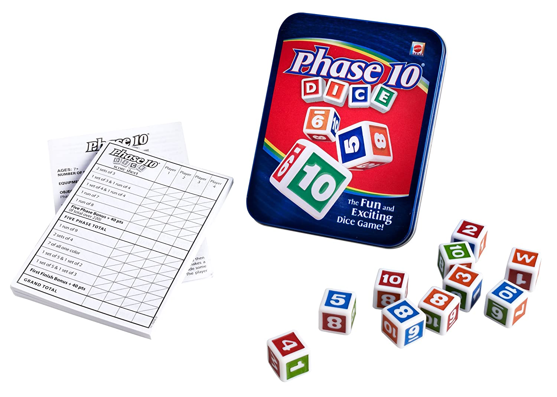 驚きの価格 [マテル]Mattel Phase 10 Dice Game [並行輸入品] W4730 W4730 10 [並行輸入品] B004RCX6FI, カウくる:92c1f3a1 --- cliente.opweb0005.servidorwebfacil.com