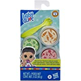Baby Alive Solid Doll Food Refill, Includes 3 Doll Foods, 1 Fork, Toy Accessories for Kids Ages 3 Years Old and Up