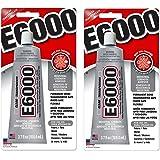 E6000 230010 Craft GQuJDU Adhesive, 3.7 Fluid Ounces (Pack of 2)