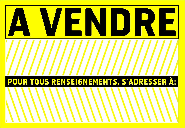 Chapuis PSR2 - Cartel adhesivo de PVC con texto À vendre ...