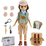 Doll by Lottie LT053 Fossil Hunter | Dolls - Clothes - Accessories - Toy Sets - Collectible | Inspired by real kids!7 Inch 18 cm Doll With Brown Hair And Brown Eyes