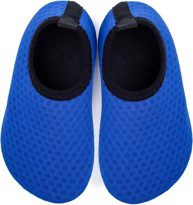 L-RUNJP Babys Water Shoes Lightweight Toddler Aqua Sock Summer Swim Shoes Walking Shoes