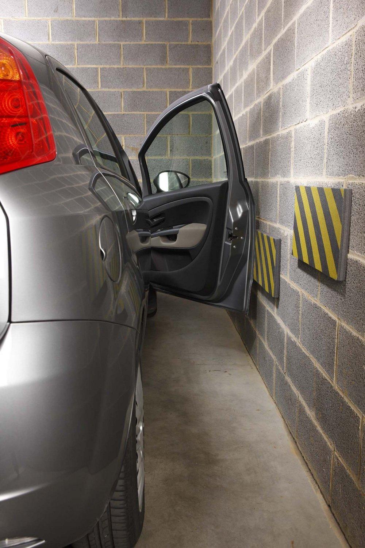 HP 18325 Wandschutz Garagenschutz Set GELB//SCHWARZ 50x25x2,5 cm