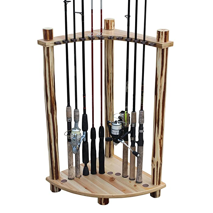 Top 9 Corner Fishing Rod Holders For Home