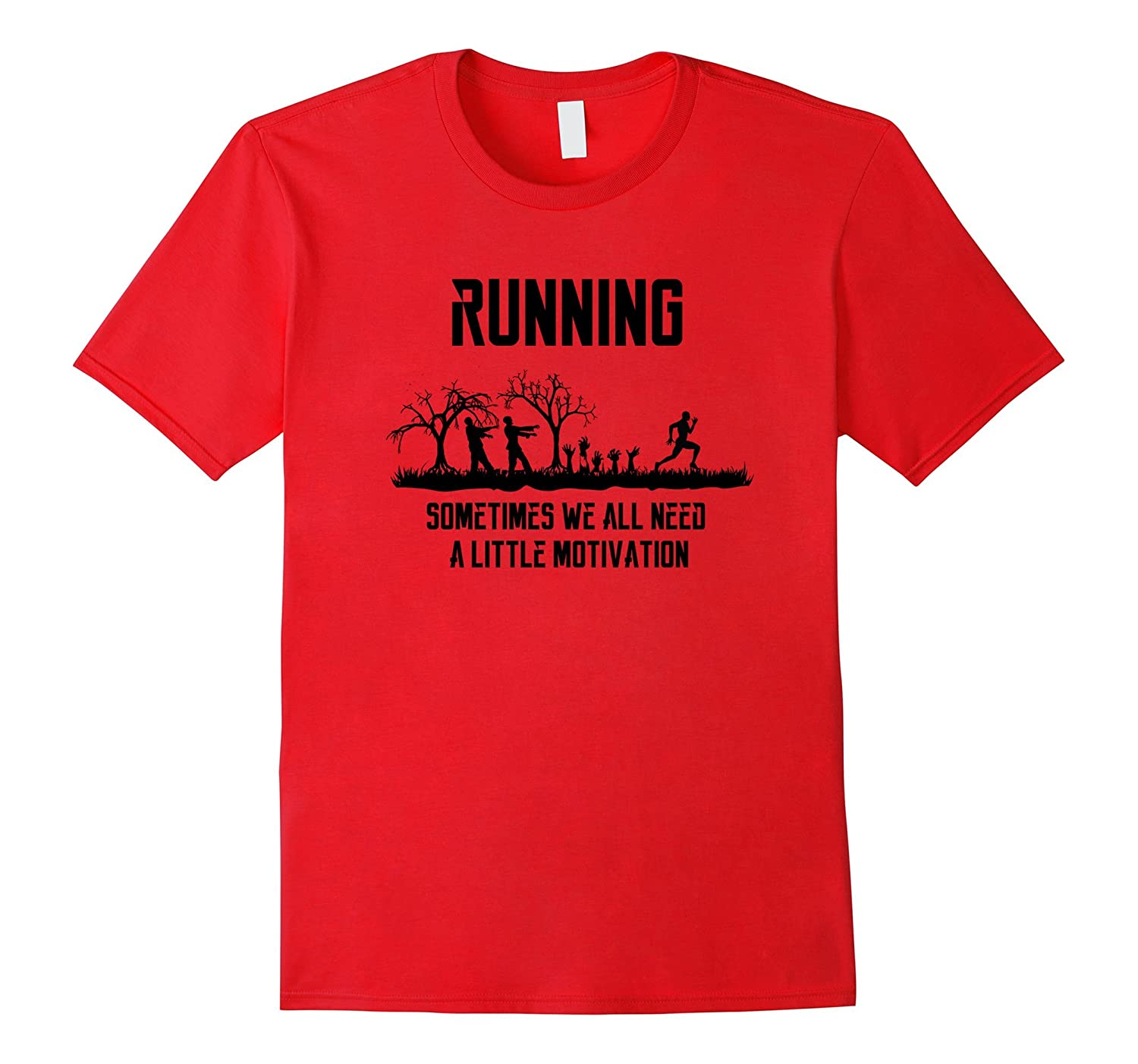 Funny zombie workout shirt - Motivational, fitness, running-TH