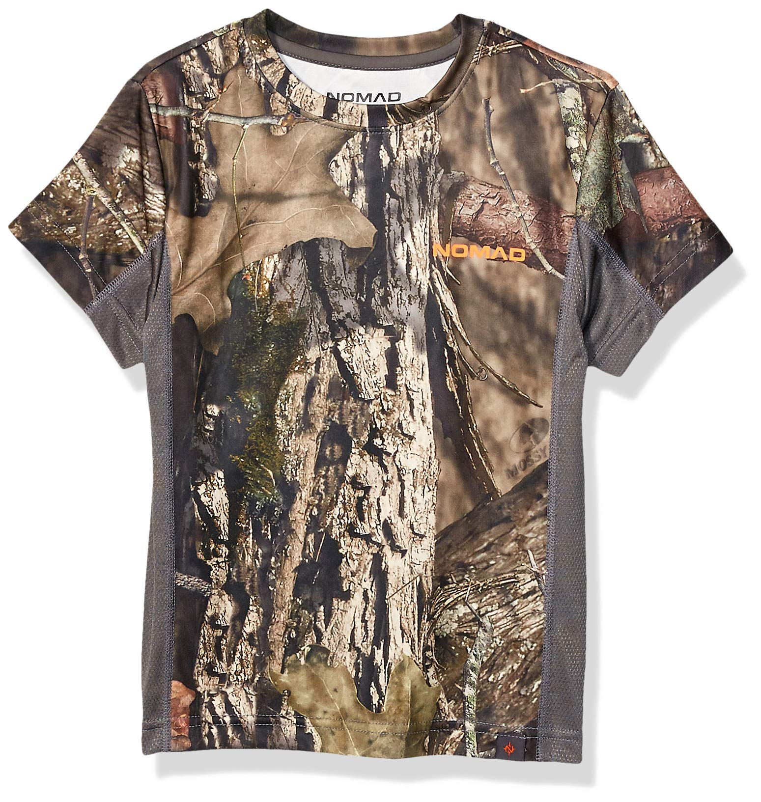 Nomad Kids' Standard Youth Short Sleeve Icon, Mossy Oak Break Up Country, X-Large by Nomad Outdoor